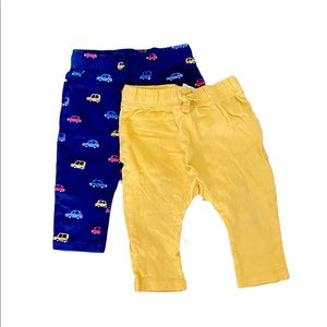 [3 for $15] H&M jogger leggings 2 pant set